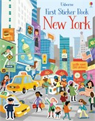 'First sticker book New York' book cover
