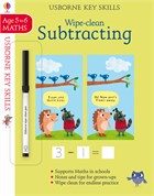 'Wipe-clean subtracting 5-6' book cover