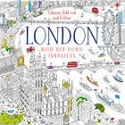 'Fold-out and colour London' book cover