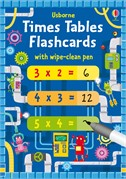 'Times tables flash cards' book cover