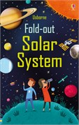 'Fold-out solar system' book cover