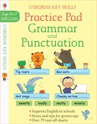'Grammar and punctuation practice pad 6-7' book cover