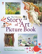 'Story of art picture book' book cover