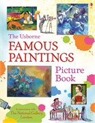 'Famous paintings picture book' book cover
