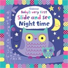 'Baby's very first slide and see night time' book cover