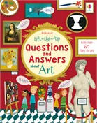 'Lift-the-flap questions and answers about art' book cover