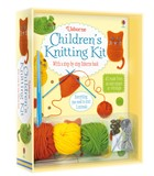 'Children's knitting kit' book cover
