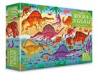 'Dinosaurs puzzle book and jigsaw' book cover