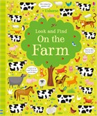 'Look and find on the farm' book cover