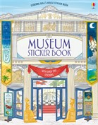 'Museum sticker book' book cover