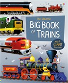 'Big book of trains' book cover