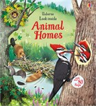 'Look inside animal homes' book cover