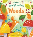 'Little lift and look woods' book cover
