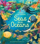 'Look inside seas and oceans' book cover