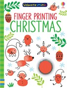 'Finger printing Christmas' book cover