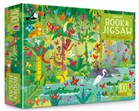 'In the jungle puzzle book and jigsaw' book cover