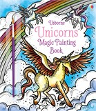 'Magic painting unicorns' book cover
