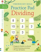 'Dividing practice pad 6-7' book cover