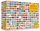 Flags of the world book and jigsaw