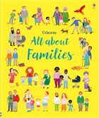 'All about families' book cover