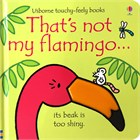 'That's not my flamingo...' book cover