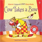 'Cow takes a bow' book cover