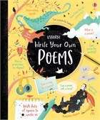 'Write your own poems' book cover
