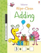 'Wipe-clean adding' book cover