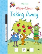 'Wipe-clean taking away' book cover