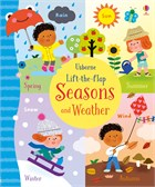 'Lift-the-flap seasons and weather' book cover