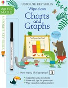 'Wipe-clean charts and graphs 6-7' book cover