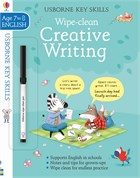 'Wipe-Clean Creative Writing 7-8' book cover