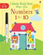 'Numbers 1 to 10' book cover