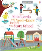 'All the words you need to know before you start school' book cover