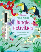 'Wipe-clean jungle activities' book cover