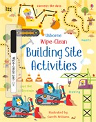 'Wipe-clean building site activities' book cover