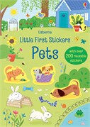 'Little first stickers pets' book cover