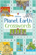 'Planet earth crosswords' book cover