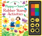 'Poppy and Sam's rubber stamp activities' book cover