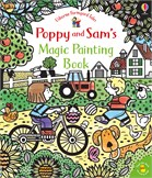'Poppy and Sam's magic painting book' book cover