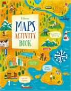 'Maps activity book' book cover