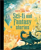 'Write your own sci-fi and fantasy stories' book cover