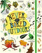 'Never get bored outdoors' book cover