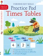 'Times tables practice pad 5-6' book cover