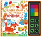 'Rubber stamp activities animals' book cover