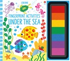 'Fingerprint activities: Under the sea' book cover