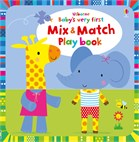 'Baby's very first mix and match playbook' book cover