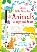 'Little wipe-clean animals to copy and trace' book cover