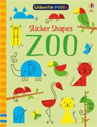 'Sticker shapes zoo' book cover