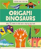 'Origami dinosaurs' book cover